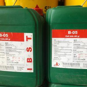 Báo giá chất Tẩy Gỉ SắtThép B05 tại Nghệ An và Hà Tĩnh